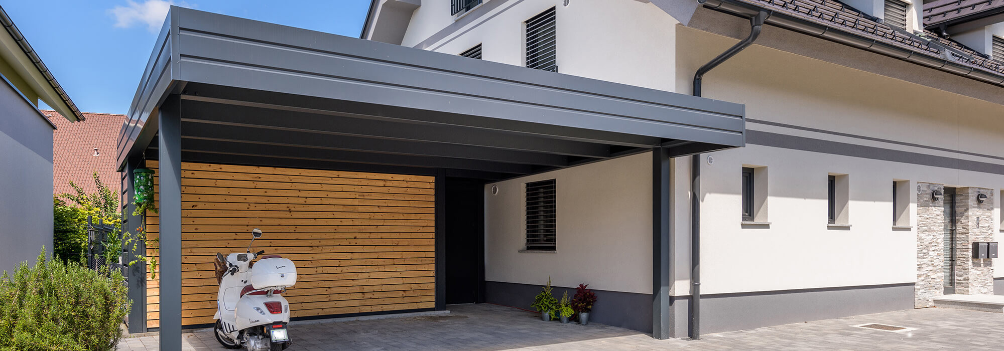 carports with sheds